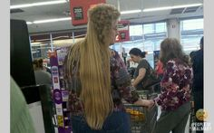 Oh snap! I see you are trying to pull off the 'party in the front party in the back' mullet