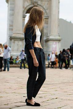 On the Street….At Roberto Cavalli, Milan - The Sartorialist