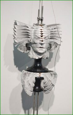 Wim Botha (1974 South-Africa) -ghost in the machine - Book Sculptures by Wim Botha