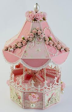 Tara Brown, Author at Tara's Craft Studio 3d Paper Projects, 3d Paper Crafts, Paper Art, Craft Projects, Paper Crafting, Pot A Crayon, 3d Craft, Shabby Chic Crafts, Pink Christmas