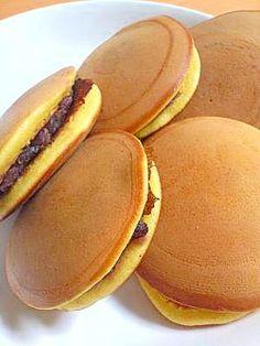 """""""Sweet bean pancakes""""手作りどら焼き♪/あんみつ"""