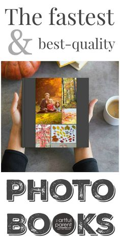 "If you're looking for the quickest and best quality photo books, try this one. I loved the experience of creating mine, especially the ""auto-magic"" feature. via Artful Parent"