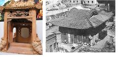 13th century terracotta house model- in comparison with contemporary Song dynasty architecture
