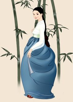 hanbok illustration - Pesquisa Google