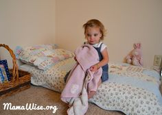 MamaWise.org Transitioning your toddler to a mattress from their baby crib  doesn't