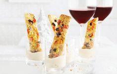 Focaccia Pizza Fingers | Photo: Steve Krug | Agency: Karen Lim | Food Styling: Eshun Mott | Prop Styling: Christine Hanlon | LCBO Holiday 2014