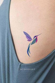 Colour Tattoo For Women, Bird Tattoos For Women, Tiny Bird Tattoos, Mini Tattoos, Small Tattoos, Cool Tattoos, Beautiful Tattoos, Wrist Tattoos, Body Art Tattoos