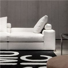 Jagger Low Back Sectional Sofa Minotti Switch Modern