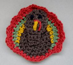 Turkey Crochet Pattern Set by StitchingStoneDesign on Etsy - Click on this link:  https://www.etsy.com/listing/478123698/turkey-crochet-pattern-set?ref=listing-shop-header-0