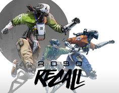 """Check out this @Behance project: """"ROBO RECALL ILLUSTRATIONS"""" https://www.behance.net/gallery/49770817/ROBO-RECALL-ILLUSTRATIONS"""