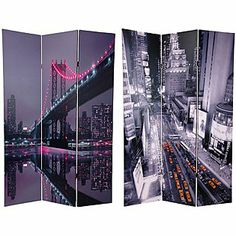 New York State of Mind room divider (double-sided)...great party prop for NY Themed Party...