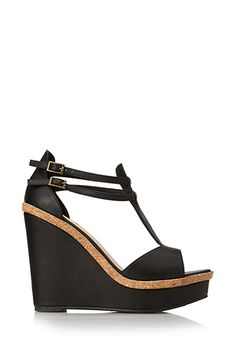 Go-To Wedge Sandals | FOREVER21 - 2000072234
