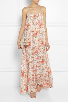 gorgeous, flowy maxi dress //