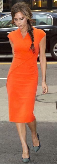 Dress - Victoria Beckham Shoes - Proenza cheaper style dress Aqua Magdaline Asymmetric Pencil Dress Proenza schouler Colorblock Cap Toe Pumps