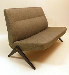 Bengt Ruda; 'Triva' Sofa for Nordiska Kompaniet, Sweden, c1955.