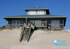 Vacation Rental Topsail Beach-N. Anderson Area Oceanfront   ALL ABOUT THE VIEW