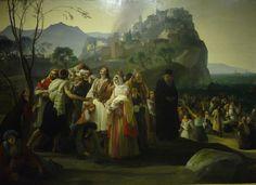 """HAYEZ, Milano, mostra 2015: """"I profughi di Parga"""" 1831"""
