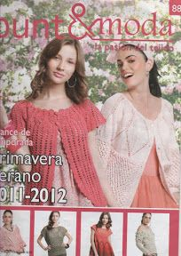 Album Archive - Punto y Moda 88 Russian Crochet, Irish Crochet, Knit Crochet, Crochet Book Cover, Crochet Books, Knitting Magazine, Crochet Magazine, Stitch Magazine, Knitting Books