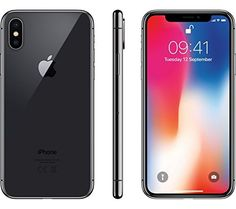 Apple iPhone X 256GB Space Gray AT&T Unlocked Ships 11/3-...