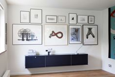 Black cabinets for the bold