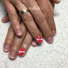 #nails #nail #műköröm #mukorom #műkörmös #géllakk #gellakk #gellac #nailart #naildesign #masni #bow #bownails