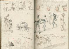 Alexis Deacon sketchbook