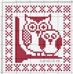 Картинки по запросу сова вышивка крестом схемы Cross Stitch Bird, Simple Cross Stitch, Cross Stitching, Dishcloth Knitting Patterns, Knitting Charts, Cross Stitch Alphabet Patterns, Crochet Owls, Owl Patterns, Owls