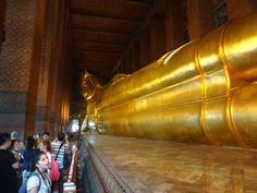 Wat Pho Temple of the Reclining Buddha