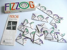 Fizzog designed by Ken Garland for Galt toys