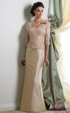 mother of the bride/groom dress So elegant!