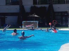 Actividades Deportivas en el Hotel, piscina Adh Isla Cristina, Waterpolo