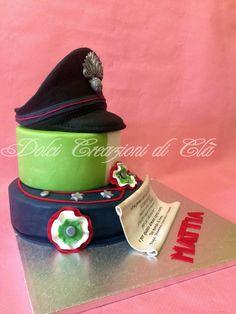 Torta allievo carabiniere