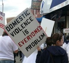 Domestic violence is everyone's problem