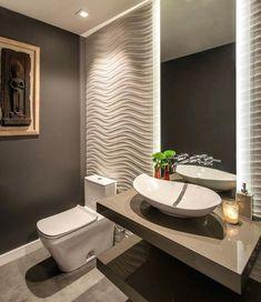 65 Most Popular Small Bathroom Remodel Ideas on a Budget in 2018 – 65 Most Popular Small Bathroom Remodel Ideas on a Budget in 2018 – - Best Dekoration Badezimmer Room Design, Interior, Powder Room Design, Small Bathroom Decor, Modern Bathroom, Small Remodel, Bathroom Design, Bathroom Decor, Small Bathroom Remodel