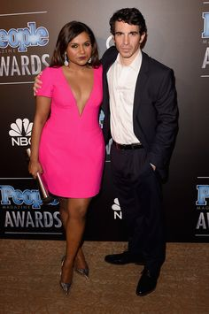 fave tv couple EVER <3 mindy you look like a dime :)