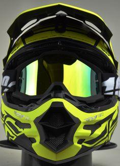 2014 Fly Racing Carbon Dubstep Black Hi Viz Motocross Helmet The Carbon… Dirt Bike Gear, Cool Motorcycle Helmets, Motocross Helmets, Racing Helmets, Cool Motorcycles, Dirt Bike Room, Predator Helmet, Power Bike, Enduro