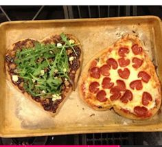 ❤Make a date night of baking homemade pizza;