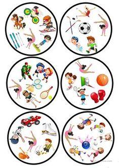 Sport Dobble játék