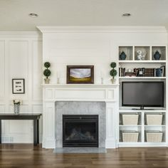 Built In TV Cabinet Design Ideas, Pictures, Remodel and Decor