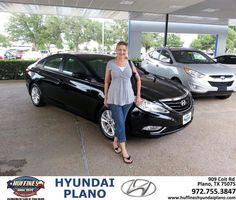 #HappyAnniversary to Janie Lynn on your 2013 #Hyundai #Sonata from Frank White at Huffines Hyundai Plano!