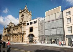 Oh how many times have I passed this in the 'olden days'. I'd pop into the library next door too. Now it's known as The Wilson - Cheltenham Art Gallery & Museum