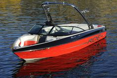 New 2012 Malibu Boats CA 21 V-Ride Ski and Wakeboard Boat without a driver. Malibu Boats, Wakeboard Boats, Wakeboarding, Skiing, To Go, Cottage, Water, Outdoor, Live