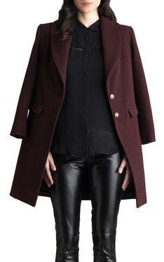 Carol Pea Coat by Georgie & Elaine