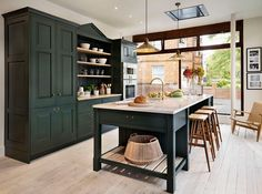 Teddy Edwards Brooklands range with traditional dresser-style shelving