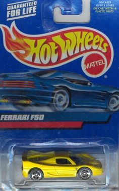 Hot Wheels 2000 161 FERRARI F50 1:64 Scale by MATTEL. $6.99. die-cast body,1/64 scale,officially licensed,exclusive designs,collectible value. Highly detailed die-cast replica with a value that increases with age. designed for both children and adults. Playable and collectible.