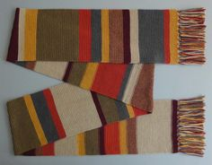 Doctor Who Scarf | Community Post: 19 Nerdy Knits You Need To Knit Right Now  I NEED TO MAKE THESE NOW!!!!