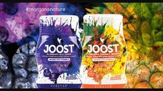 Two naturally-flavoured fruit blends transform your drinks into a whole new dimension of deliciousness. Joost is high in vitamins B6, B12, folic acid and vitamin C. Perfect for people who lead a busy lifestyle. Joost can also be added to tea, water and fruit juice. Available in Pineapple Coconut Ginger and Blueberry Acai Lemon. #joost #acai #ginger #morgansnature