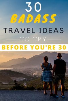 Turning 30 might feel like a big milestone. but there are quite a few things youneed to do before you turn From hitch-hiking your way around the world, to going somewhere very remote, here are the 30 things to do before you turn Tahiti, Bora Bora, Travel Advice, Travel Guides, Travel Tips, Travel Hacks, 30 Things To Do Before 30, Places To Travel, Travel Destinations