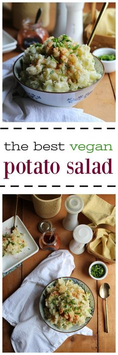 Get ready for picnic season with the best vegan potato salad. This gluten-free side dish will have your guests raving.