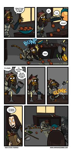 AWKWARD ZOMBIE - Situational Gravity (Where ever it lands, you might as well just leave it there... =T_T=